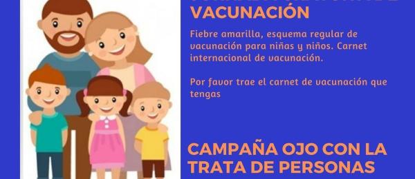 Consulado de Colombia en Asunción realizará jornada de vacunación